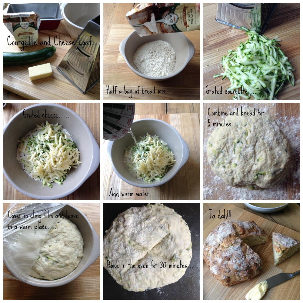 Courgette & Cheese Loaf